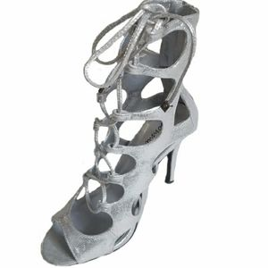 Silver Pewter Gladiator Boot